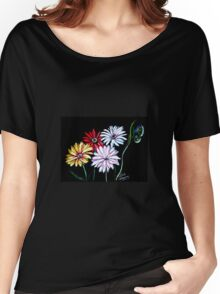 Flower Glow Women's Relaxed Fit T-Shirt
