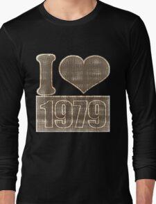 I heart 1979 Vintage Long Sleeve T-Shirt