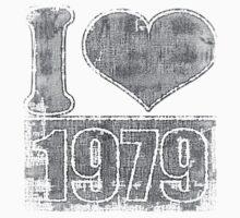 I love 1979 Vintage Baby Tee