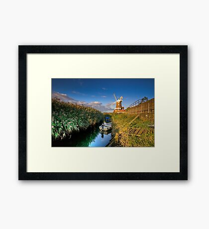 Cley Windmill Framed Print