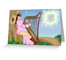 To Dance at Dusk Greeting Card