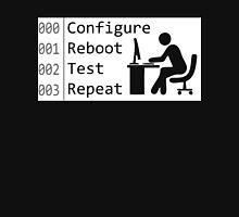 Configure Reboot Test Repeat T-Shirt