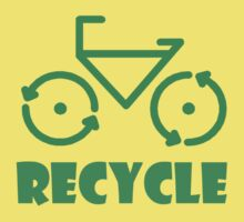 Recycle Bicycle by eggnog
