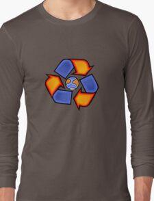 World Recycling Long Sleeve T-Shirt