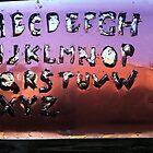 Germ Typography by BizarreBeff