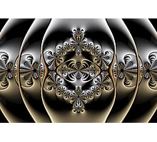 Pewter and Brass II Photographic Print
