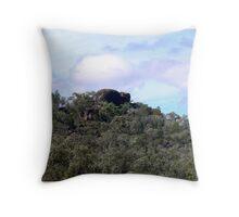 """""""Elephant Rock , via Bonshaw NSW . Throw Pillow"""