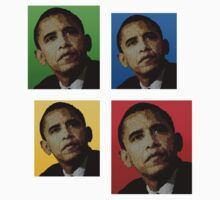 Barac Obama Colored by devige