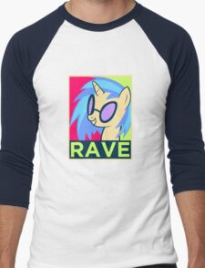 RAVE Men's Baseball ¾ T-Shirt