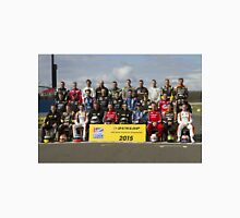 BTCC 2015 Touring Car Full Driver Line Up Unisex T-Shirt
