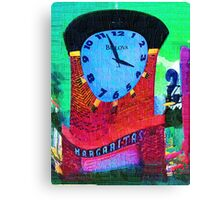 Margarita Clock Canvas Print