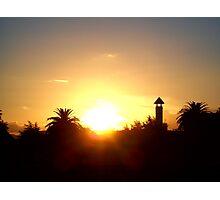Rotorua Sunset Photographic Print