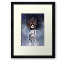 loneliness & my near-complete life Framed Print