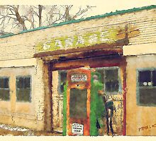 Old Scipio Garage by iLens
