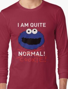 COOKIE MONSTER (WHITE TEXT) Long Sleeve T-Shirt