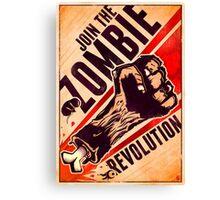 The Zombie Revolution Canvas Print