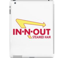 In N Out Steamed Ham iPad Case/Skin