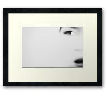 portrait/101 Framed Print