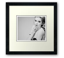 fallen_angel..................... Framed Print