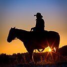 Sunrise Cowboy by Inge Johnsson