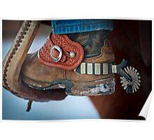 Cowboy Spurs Poster