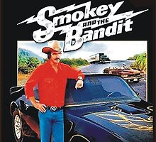 Smokey and the Bandit Iphone Case  by BUB THE ZOMBIE