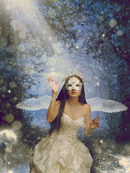Angel Of Night by ©Maria Medeiros