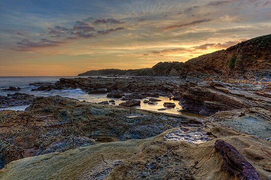 Cape Paterson • Victoria by William Bullimore