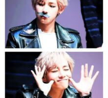 BTS/Bangtan Sonyeondan - V Collage Sticker