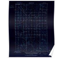 USGS Topo Map Washington State WA Winchester 244750 1910 62500 Inverted Poster