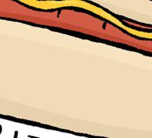 Bite Me - Hotdog Sticker
