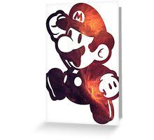 Super Mario Greeting Card