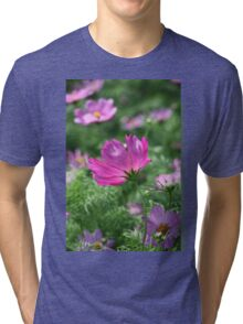 Cosmos Flower 7142 T shirt Tri-blend T-Shirt