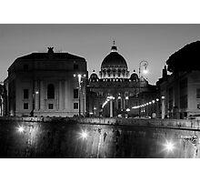 St Pauls - Rome Photographic Print