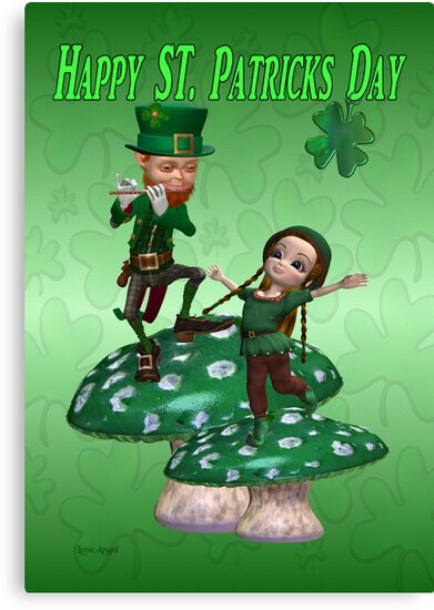 Happy St. Patrick's Day by LoneAngel