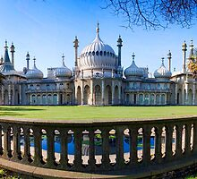 Royal Pavilion From The Steine by Dave Godden