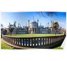 Royal Pavilion From The Steine Poster