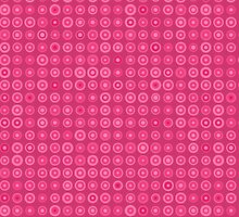 Pink Dotted iPhone Case Pattern by kotopes