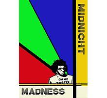 Midnight Madness minimalist movie poster Photographic Print