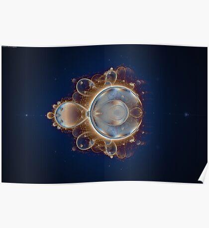 Orbit Mandelbrot Poster
