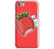 Bite Me - Strawberry iPhone Case/Skin