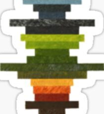 The Obfuscated Cross Sticker