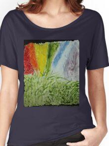 Laurel Genesis Rainbow Women's Relaxed Fit T-Shirt