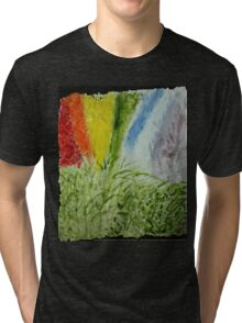 Laurel Genesis Rainbow Tri-blend T-Shirt