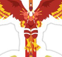 Phoenix Rising Sticker