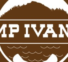 Camp Ivanhoe Shirt Sticker