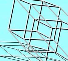 Hypercube (i) Sticker