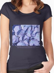 Hydrangea 7015 Women's Fitted Scoop T-Shirt