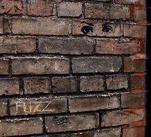 Brick eyes by Esther  Moliné