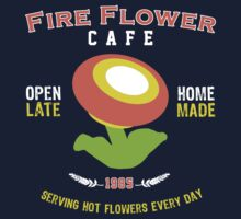 Fire Flower Cafe - Remix Kids Clothes